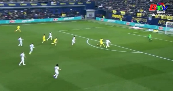 Vòng 24 La Liga - Villarreal 2-3 Real Madrid