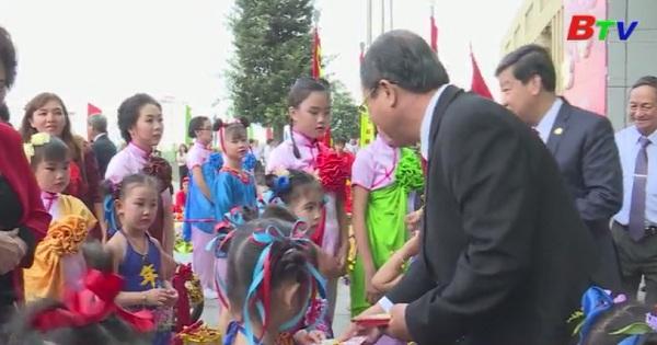 Cộng đồng người Hoa chúc tết lãnh đạo tỉnh Bình Dương