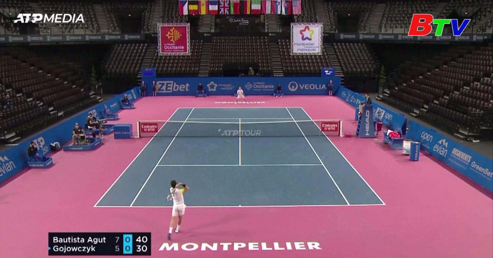 Kết quả vòng bán kết Giải quần vợt Open Sud de France 2021