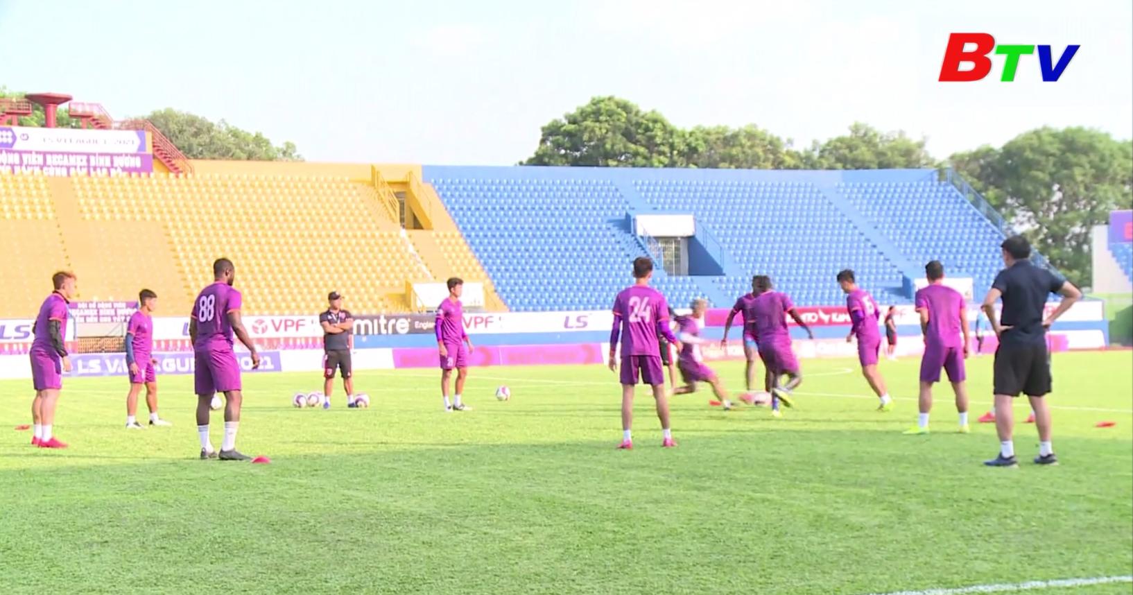 Becamex Bình Dương sẵn sàng cho ngày V-League 2021 trở lại