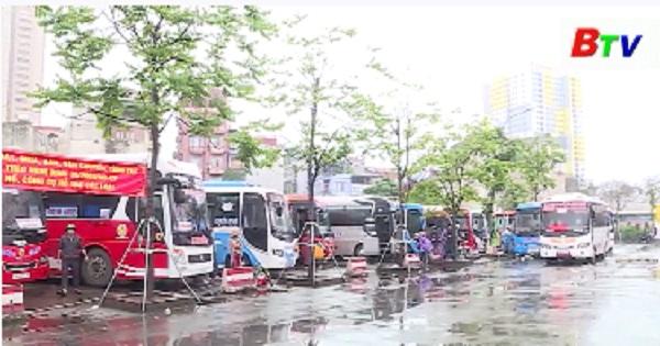 Bình Dương dừng các tuyến xe buýt