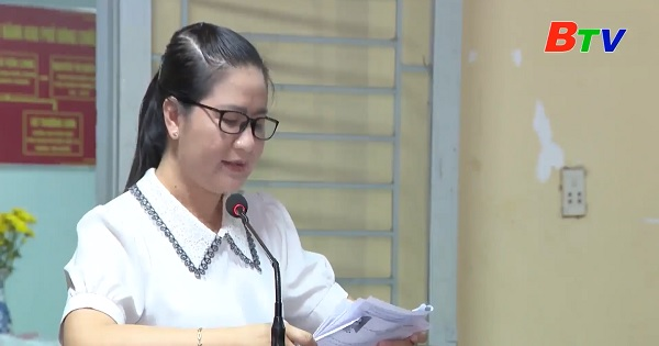 Hội nghị lấy ý kiến cử tri phường Tân Đông Hiệp, Thành phố Dĩ An