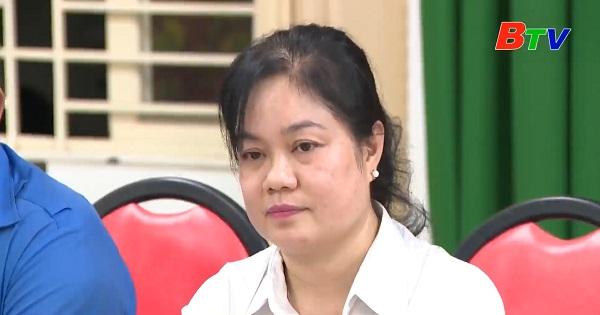 Hội nghị lấy ý kiến cử tri khu phố 4, phường Phú Thọ, thành phố Thủ Dầu Một