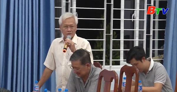 Hội nghị lấy ý kiến cử tri xã Phú An, thị xã Bến Cát