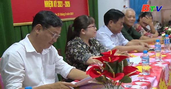Hội nghị lấy ý kiến cử tri khu phố 6, phường Tương Bình Hiệp, thành phố Thủ Dầu Một