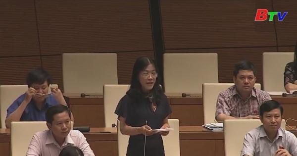 Quốc hội thảo luận Dự án luật sửa đổi, bổ sung một số điều của các luật liên quan đến Luật Quy hoạch