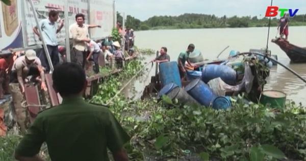Tìm thấy thi thể hai nạn nhân trong vụ tai nạn đường thủy tại cảng An Sơn, Thuận An, Bình Dương