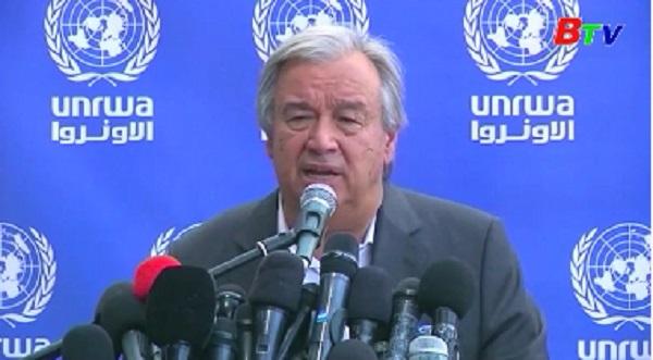 LHQ kêu gọi dỡ bỏ các biện pháp phong tỏa dải Gaza