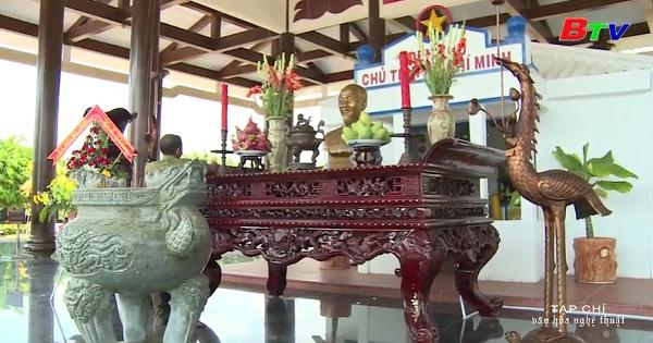 Đền thờ Bác Hồ ở Bạc Liêu