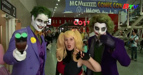 Hàng ngàn người tham dự lễ hội Comic Con tại LonDon