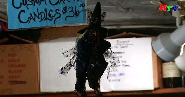 Cửa hàng phù thủy cổ xưa tại New York hút khách  mùa HALLOWEEN
