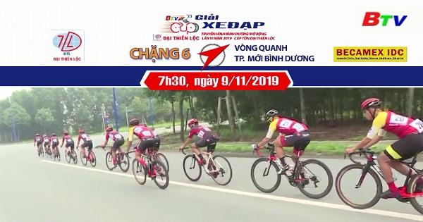 Chặng 6 - Giải xe đạp Truyền hình Bình Dương mở rộng lần 6 Cúp Tôn Đại Thiên Lộc
