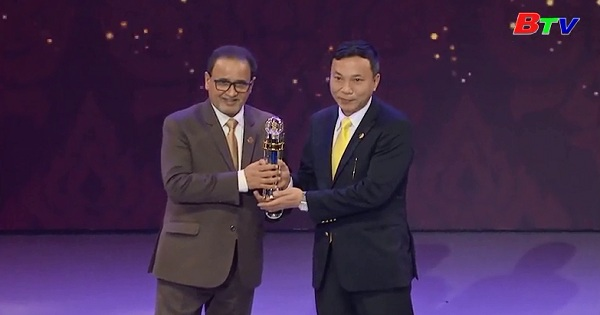 Liên đoàn bóng đá Việt Nam nhận giải thưởng AFC 2017