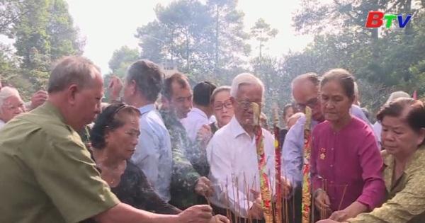 Bình Dương họp mặt tưởng niệm 59 năm Ngày Phú Lợi căm thù