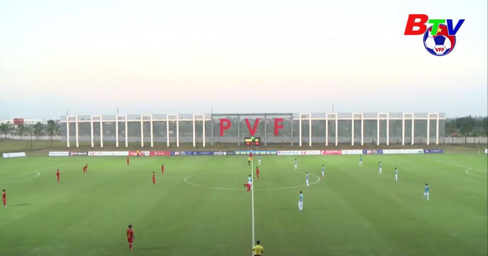 Diễn biến Vòng chung kết Giải bóng đá U17 Cúp Quốc gia 2020