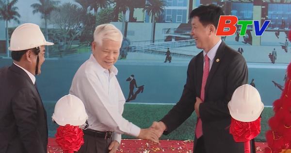 Động thổ trung tâm hành chính huyện Bàu Bàng
