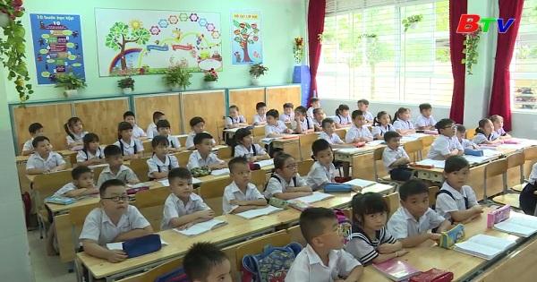 Công tác dạy và học ở Trường tiểu học Trần Quốc Toản