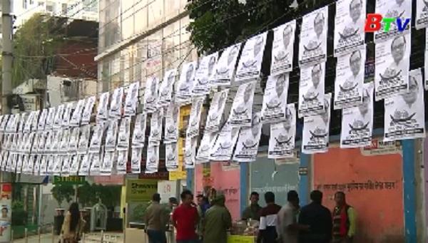 Bangladesh tăng cường an ninh trước tổng tuyển cử