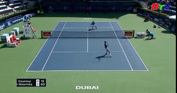 Vòng 1 Giải quần vợt Dubai Championship 2017