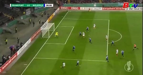 Tứ kết Cúp quốc gia QG Đức- Frankfurt 1–0  Bielefeld