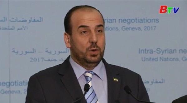Xuất hiện tia hy vọng phá vỡ thế bế tắc hòa đàm về Syria