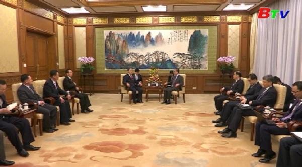 Đoàn quan chức cấp cao Triều Tiên thăm Trung Quốc