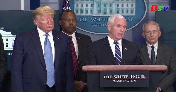 Phó tổng thống Mỹ yêu cầu người dân hợp sức chống dịch