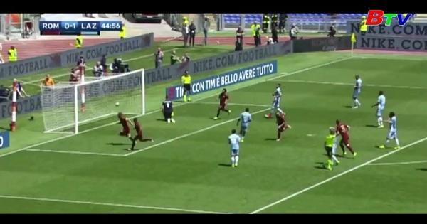Vòng 34 Serie A - AS Roma 1-3 Lazio