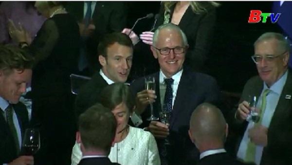 Tổng thống Pháp công du Úc với trọng tâm hợp tác an ninh quốc phòng