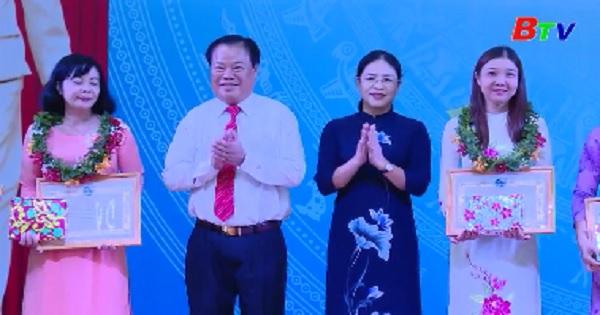 Hội LHPN Việt Nam tôn vinh 143 điển hình tiên tiến