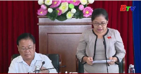 Ban Pháp chế - HĐND tỉnh thẩm tra các nội dung trình kỳ họp thứ 15 HĐND tỉnh