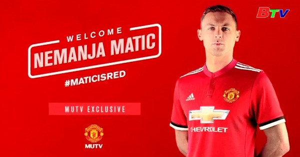 Matic gia nhập Manchester United