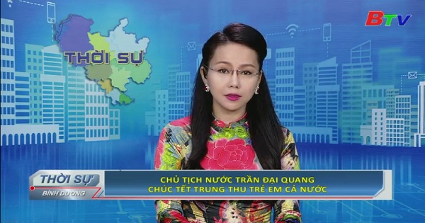 Chủ tịch nước Trần Đại Quang chúc Tết trung thu trẻ em cả nước