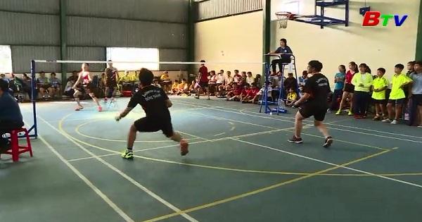 Giải thể thao học sinh tỉnh Bình Dương năm học 2017 - 2018 : Khởi tranh môn cầu lông và cờ vua
