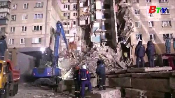 Vụ nổ sập chung cư ở Nga - Số người thiệt mạng tiếp tục tăng