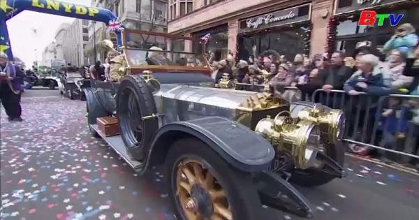 Diễu hành chào đón năm mới ở LonDon