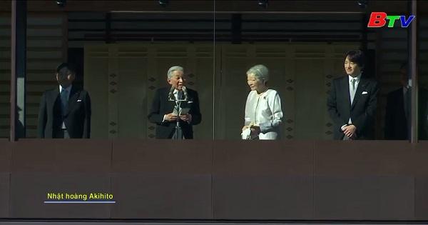 Nhật hoàng Akihito chúc mừng năm mới