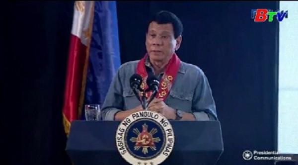 Philippines sử dụng quân đội trong cuộc chiến chống ma túy