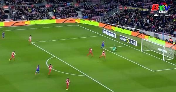 Vòng 25 La Liga - Barcelona 6-1 Sporting Gijon