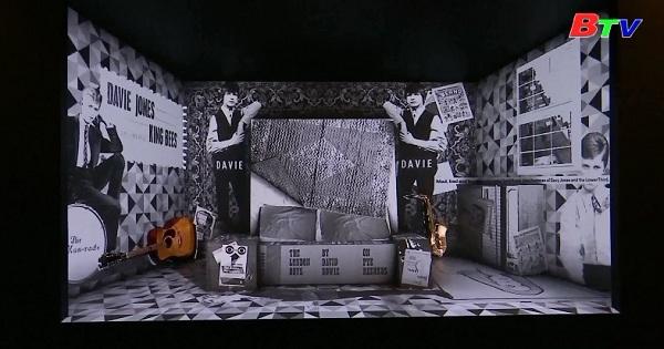 Triển lãm về David Bowie tại bảo tàng Brookly, New York