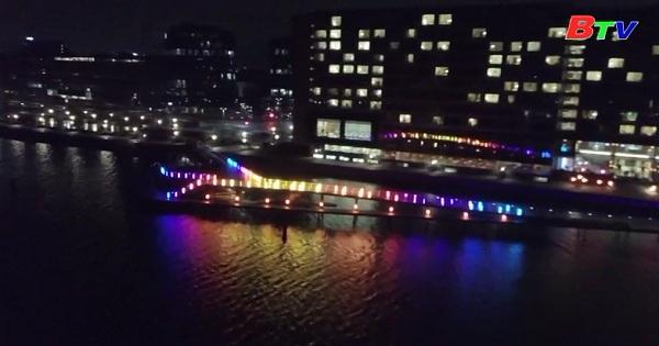 Rực rỡ lễ hội ánh sáng mùa đông Đan Mạch