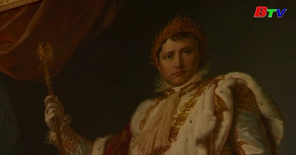 Triển lãm về Hoáng đế Napoleon Bonapartre tại cung điện Fontainebleau