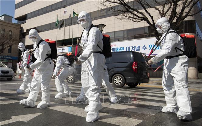 Dịch viêm đường hô hấp cấp COVID-19 - Số người nhiễm tại Hàn Quốc đã lên tới gần 5.000