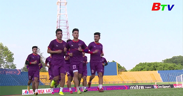 Becamex Bình Dương thi đấu giao hữu, sẵn sàng khi V-League 2021 trở lại
