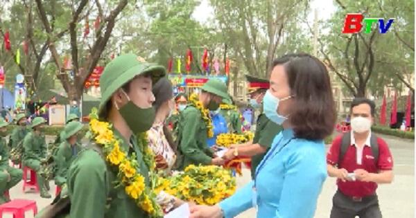 Huyện Bắc Tân Uyên hoàn thành 100% chỉ tiêu giao quân năm 2021