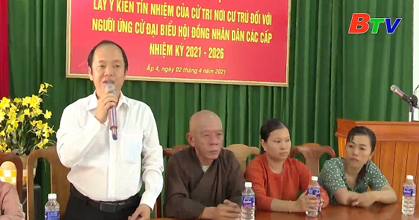 Hội nghị cử tri xã An Thái, huyện Phú Giao