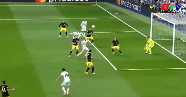 Lượt đi bán kết UEFA Champions League - Real Madrid 3-0 Atletico Madrid