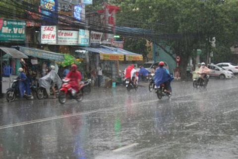 Bắc Bộ và Thanh Hóa mưa dông nhiều nơi, nguy cơ sạt lở đất vùng núi phía Bắc