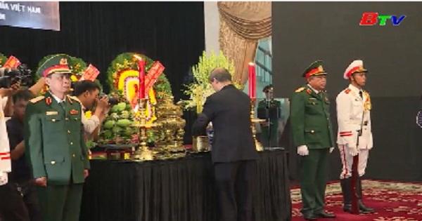 Lễ viếng Nguyên Chủ tịch nước Lê Đức Anh tại TP. Hồ Chí Minh