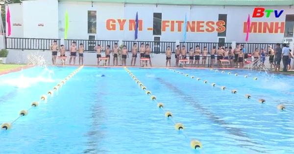 Lễ phát động toàn dân tập luyện môn bơi, phòng chống đuối nước tỉnh Bình Dương  năm 2019